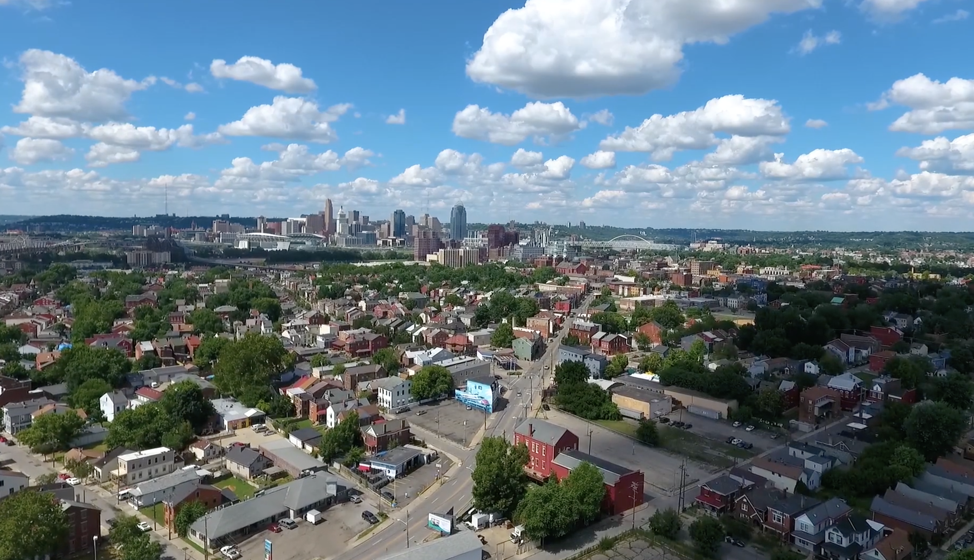 Spotted Yeti Media Video Production Cincinnati Ohio City Skyline