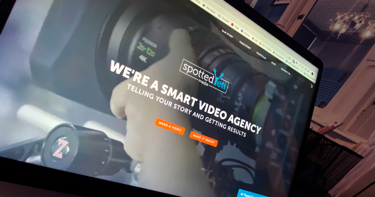 SpottedYeti_Media_Smart_Video_Agency_Website_Photo